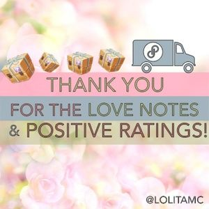 Other - THANK YOU FOR THE LOVE NOTES & RATINGS!